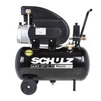 Compressor ar 8,5 pés 25l 120lbf pratic csi 8,5/25 110v/220v schulz -