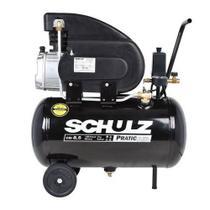 Compressor ar 8,5 pés 25l 120lbf pratic csi 8,5/25 schulz -