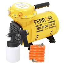 Compressor Ar Direto 1/2 HP c/ Kit MEGA JET CMJ-210/3,2 BIVOLT FERRARI -