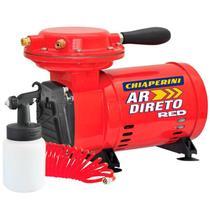 Compressor Ar Direto 1/3 HP BIVOLT RED com Kit CHIAPERINI -