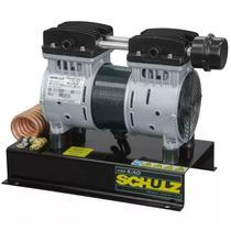 Compressor Ar Direto 1 Horse Power Poço Artesiano CSD5/AD Silencioso sem Óleo SCHULZ -