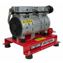 Compressor Ar Direto 1,0 HP Poço Artesiano CMI-5 AD Silencioso Sem Óleo MOTOMIL -
