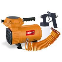 Compressor ar direto 3,8 pés com pistola e mangueira - WindJet - Intech Machine -