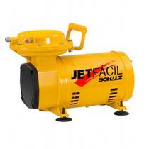 Compressor ar direto baixa pressão 2,3 pés com 2 acessórios - JET FÁCIL - Schulz (110V/220V) -