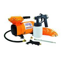 Compressor Ar Direto (tufão) G3 + Kit Pintura Chiaperini -