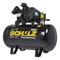 Compressor Ar Pis 10,0P 100L 140Lb Tf 2,0Hp - Schulz