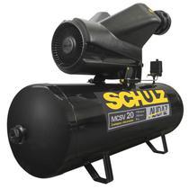Compressor Audaz 20 Pés 5 HP 200 Litros Trifásico MCSV20AP SCHULZ -