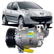 Compressor Automotivo Peugeot 207 X Line 1.4 8v Flex 2009 - Delphi