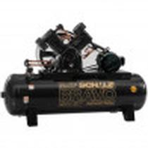 Compressor  Bravo 350 Litros 175 Libras 20cv Trifásico CSLV 80 Schulz -