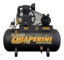 Compressor Chiaperini 10 Mpi 110 Lts 140 Lbs 2cv Trifásico -