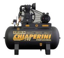 Compressor Chiaperini 10 Mpi 150 Litros 140 Lbs 2 Cv Monofásico -