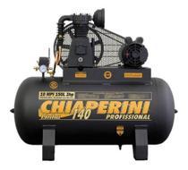 Compressor Chiaperini 10 Mpi 150 Litros 140 Lbs 2 Cv Trifásico -