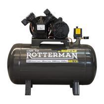 Compressor de ar 10 pés 100 litros 2 hp - CSR10/100 - Schulz -