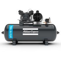 Compressor de ar 10 pés 100 litros 2 hp monofásico - AT2/10 100L (110V/220V) - Atlas Copco