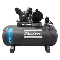 Compressor de Ar 10 pés 100 Litros 2,0HP 140 Libras - Atlas Copco -