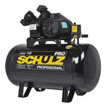 Compressor de Ar 10 Pés 100L 2Hp 140Psi Monofásico - Schulz -