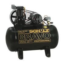 Compressor de Ar 10 Pés 140 PSI 100 Litros Monofásico 110/220V CSL10BR/100L - Schulz