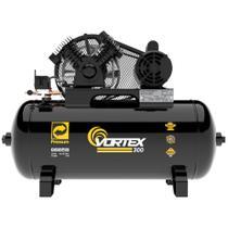Compressor De Ar 10 Pés 2hp Ônix Pro 100 Litros Tri 220/380 -
