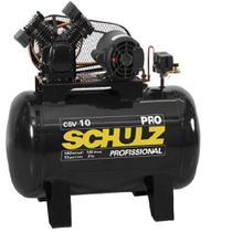Compressor de Ar 100 Litros Monofásico Profissional CSV 10/100 - Schulz -