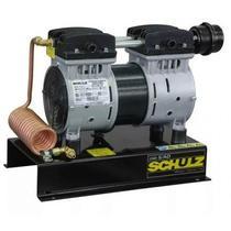 Compressor de ar 1hp Csd-5 ar Direto c/ Serpentina (odontologico) - Schulz