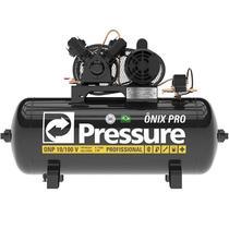 Compressor de Ar 2 HP 10 Pés 100 Litros Motor Mono ONP10100VM ONIX PRO PRESSURE -