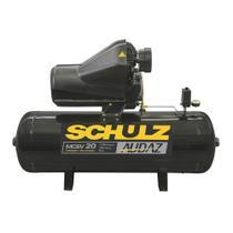 Compressor de ar 20 pés 150 litros 5 HP trifásico 220/380V - Audaz MCSV 20/150 (220/380 (Trifásico)) - Schulz