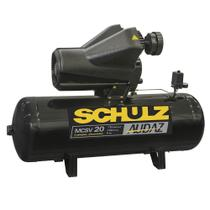 Compressor de ar 20 pés 150 litros 5 HP trifásico 220/380V - Audaz Schulz -