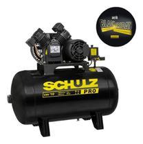 Compressor de ar 2cv 10 pes 100 litros csv pro csv 10/100 schulz -