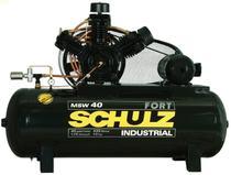 Compressor de ar 40pcm/425l msw40ap 10hp 380/660v - Schulz