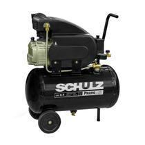 Compressor de Ar 8,2 Pés 25 Litros 2HP CSA8.2/25 SCHULZ -