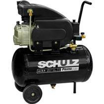 Compressor De Ar 8,5 Pés 25L Pratic Air CSI 8,5/25 Schulz -