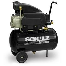 Compressor De Ar 8,5 Pés Pratic Air Csi 8,5/25l Schulz -