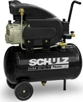 Compressor de ar 8,5pés pratic csi 8,5 25l schulz 110v/220v -