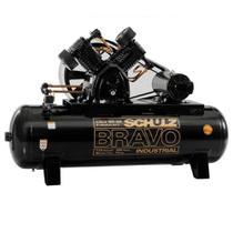 Compressor de ar Bravo 5 Pés 50 Litros 220/380V Csl5br/50 Schulz -