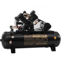 Compressor de Ar Bravo Csl 350L 60P 175Lb 15Hp Tf - Schulz -