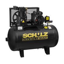 Compressor de Ar CSL10BR/100L 2HP 2 polos Monofásico 220v BRAVO SCHULZ -