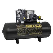 Compressor de Ar CSL15BR/200L 3HP/CV 2 polos Monofásico 127/220v BRAVO SCHULZ -