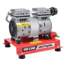 Compressor de ar direto 1,3 hp isento de óleo - CMI-5.0AD - Motomil -