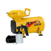 Compressor de Ar Direto 2,3 Pés 110/220V Kit Jet Fácil Schulz -