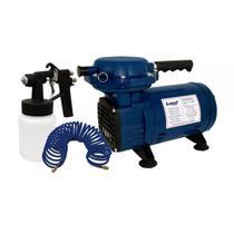 Compressor De Ar Direto Bivolt Com Kit Para Pintura-Loyal-Lc-500 -