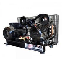 Compressor de Ar Direto  CMV10,0PLADI  com Motor Monofásico  Motomil -