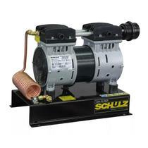 Compressor de Ar Direto Schulz CSD5 / AD, Isento de óleo, 1 HP, Com Base -