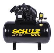 Compressor de ar elétrico Schulz Pro CSV 10/100 127V -