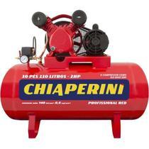 Compressor de Ar Média Pressão 10 Pcm 110 Litros -127/220v - Chiaperini