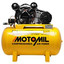 Compressor de Ar Monofásico Bivolt Motomil CMV10PL/100 -