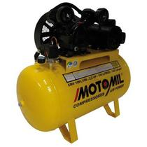 Compressor de Ar Motomil, 2 HP, 100 litros, Monofásico - CMV-10PL/100 -