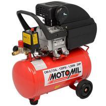 Compressor de Ar Motomil CMI 8,7/24L, 2 HP - Bivolt -