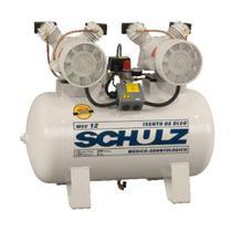 Compressor de ar Msv12/100l 12 Pés Monofásico 220v Odontológico Schulz -