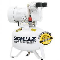Compressor de ar msv6/30l monofásico 110v odontologico schulz -