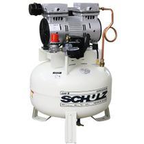 Compressor de Ar Odontológico 1 Cv, CSD 5/30L Vert - Schulz 220V -